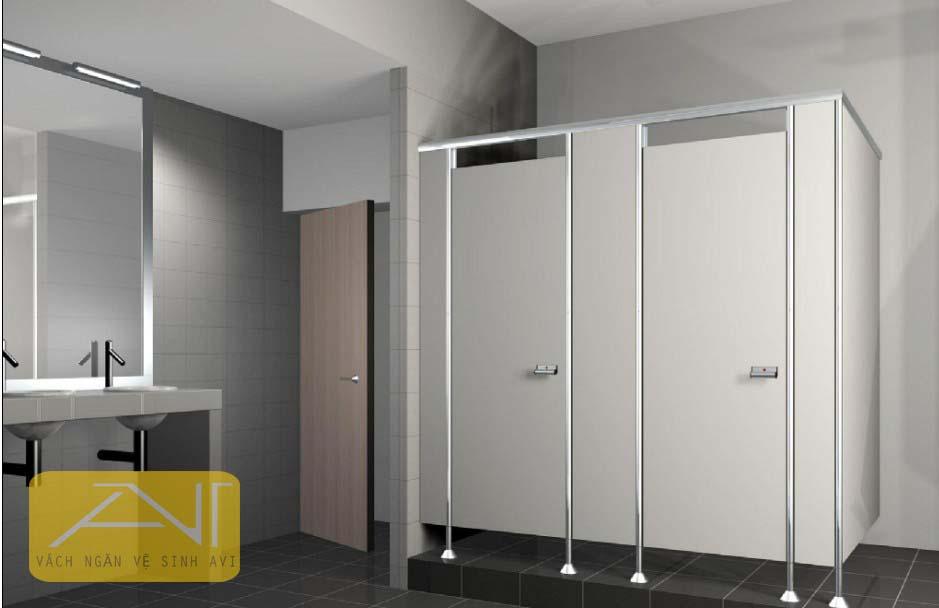 AVI - Nhà thầu thi công vách ngăn vệ sinh chuyên nghiệp